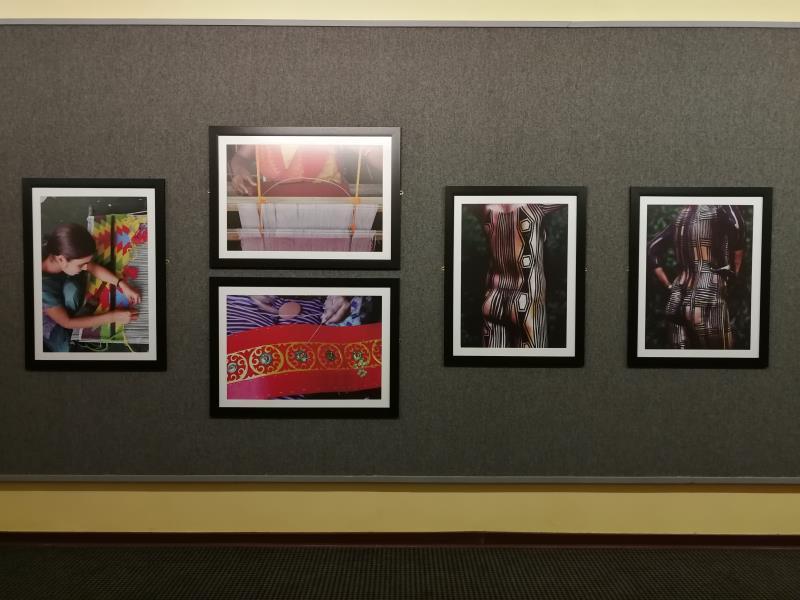 金砖国家图片展展出了来自金砖国家的摄影作品。(中国驻南非大使馆文化处供图)