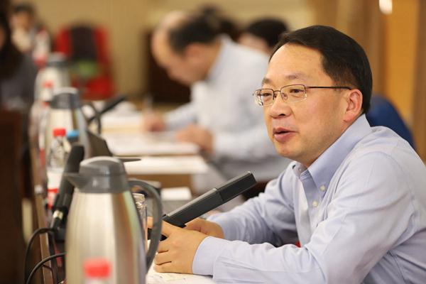 中间党校国际战略钻研院副院长、教授 高祖贵 (王洪楼 摄)