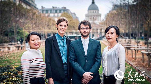2018年中法团队合作创新奖候选团队MON AMI FRANCIAS(图片:法中委员会)