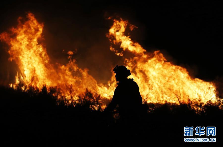 2018年的美国,还是被加州山火难倒了