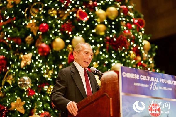 美国史带基金会主席莫里斯·格林伯格致辞