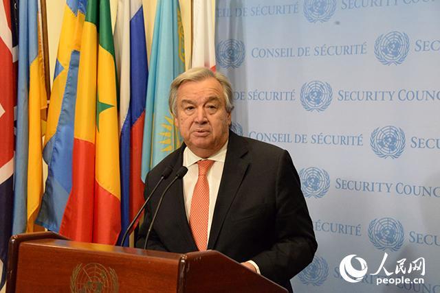 联合国秘书长古特雷斯发表新年贺词
