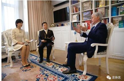 上合组织秘书长阿利莫夫在离任前夕接受《龙》杂志总编辑独家专访