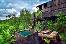令人着迷的巴厘岛浪漫住宿地