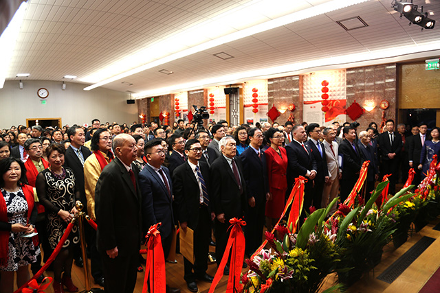 中国驻旧金山总领馆举办2019年新春招待会