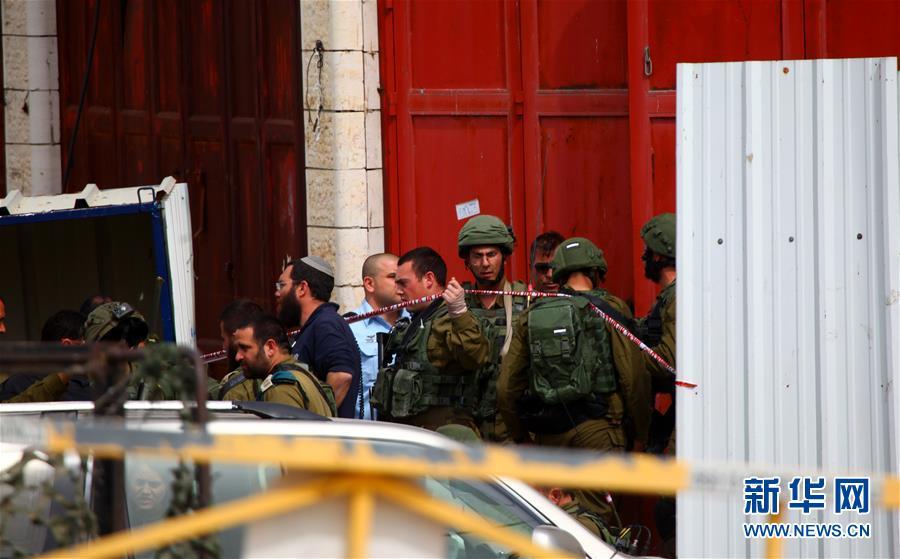 一名巴勒斯坦青年被以军开枪打死