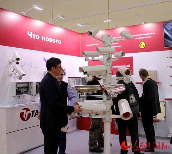 中国厂商俄罗斯莫斯科国际安防展览亮实力