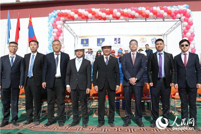 中企承包蒙古国额尔登特热电厂改造项目奠基仪式成功举行