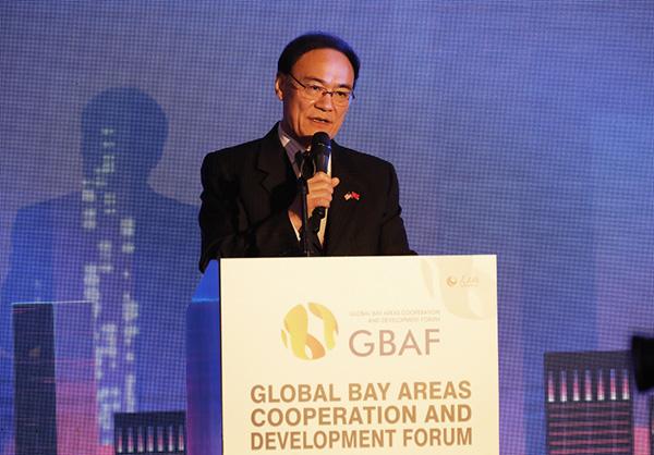 中国驻旧金山总领事王东华致辞。