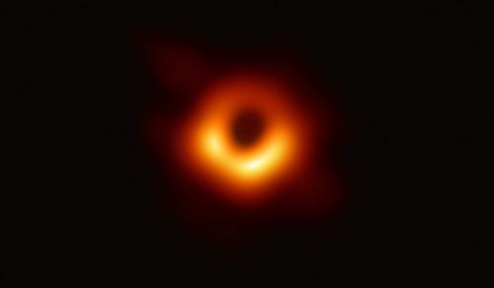 人类史上首张黑洞照片诞生