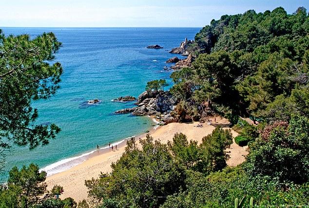 西班牙布拉瓦海岸。