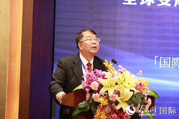 中国社会科学院日本研究所副所长张季风发言。贾文婷摄
