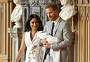 哈里王子夫妇携子亮相