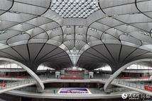 中外记者走进北京大兴国际机场