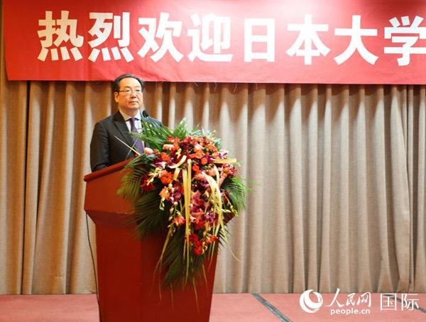 中国人民对外友好协会副会长宋敬武致辞