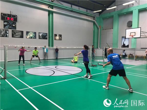 全丹学联羽毛球比赛举行