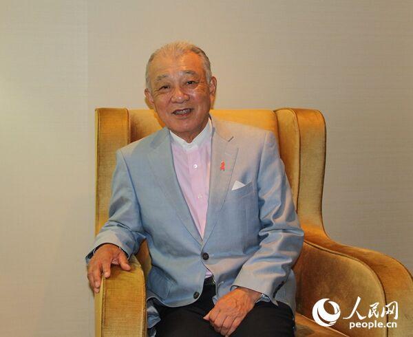 日本财团会长�G高官占新妻vip川阳平的数十年中国公益路