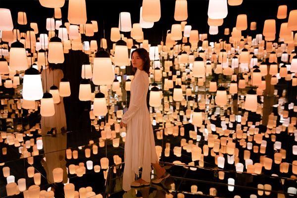 曾获DFA亚洲最具影响力设计奖科技奖灯光展在天河潭重启