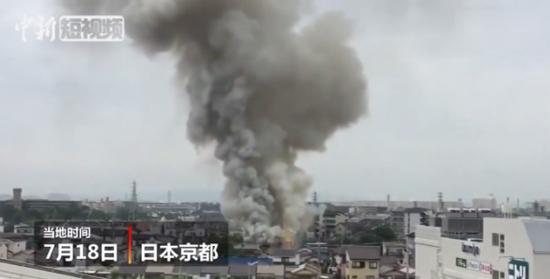 日本動畫工作室遭縱火 已致24人死亡
