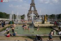 欧洲极端高温持续 多国气温破纪录
