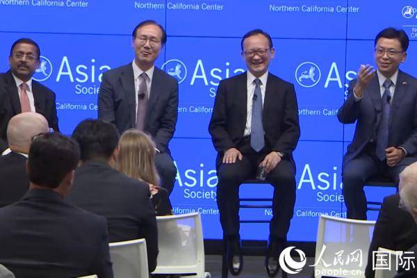 """亚洲外交官谈所谓""""美国优先""""政策"""