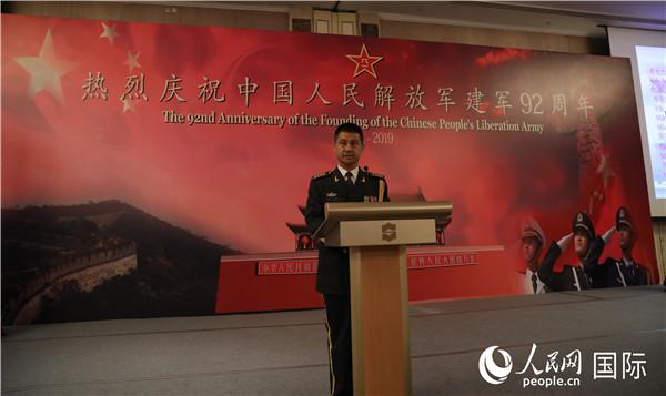 中国驻印尼大使馆举办建军节招待会