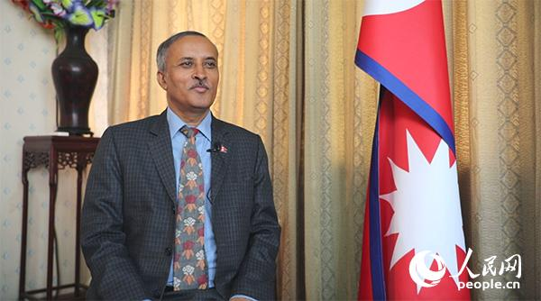 """尼泊尔驻华大使:祝愿中国实现""""两个一百年""""奋斗目标"""