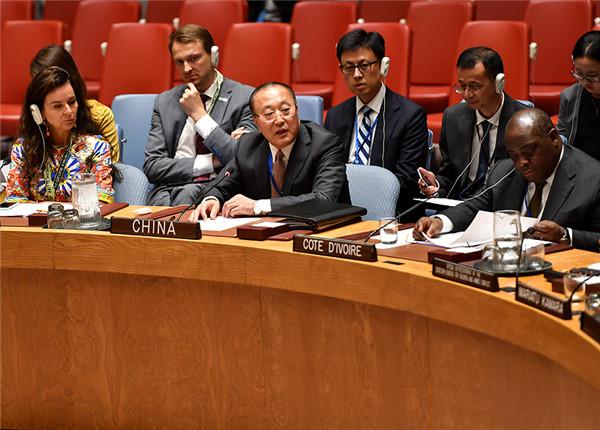 中国代表呼吁凝聚国际合力保护冲突地区儿童的各项权利