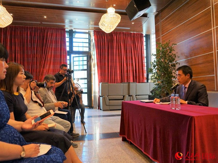 中国驻西班牙大使馆就香港当前局势举行中西媒体发布会