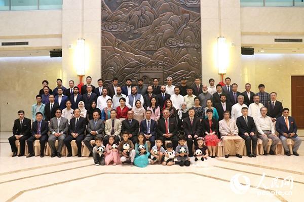 中国驻巴基斯坦大使馆举行古尔邦节招待会