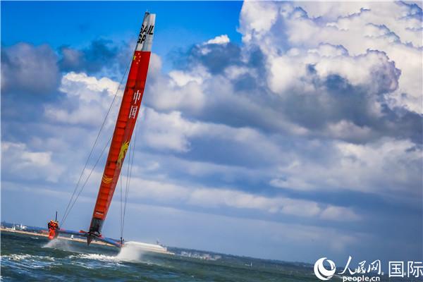 国际帆船大奖赛考斯站圆满落幕中国帆船队获最好成绩