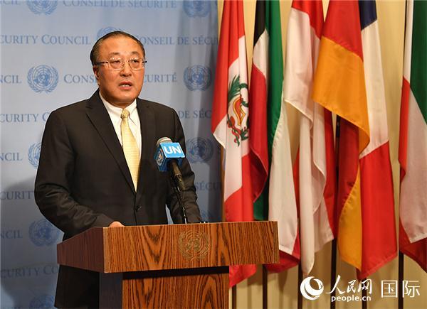 中国常驻联合国代表张军大使谈克什米尔问题