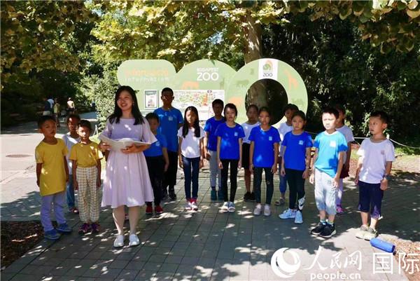 中国儿童合唱团亮相匈牙利国庆节系列活动