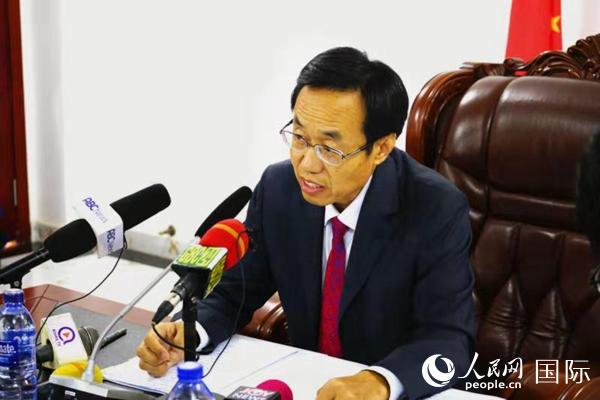 驻加纳大使:外部势力试图搞乱香港 遏制中国发展