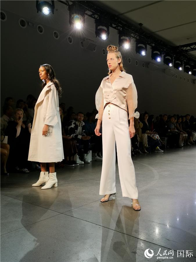 华人青年设计师领衔Blancore亮相纽约时装周