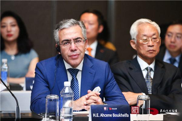 阿尔及利亚驻华大使艾哈森・布哈利法(图片由太和智库提供)