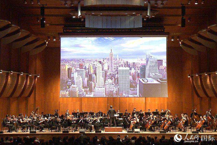 """""""金秋之夜""""大型音乐会在林肯中心隆重举行"""