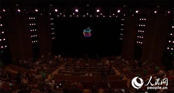 苹果2019年秋季新品发布会现场。