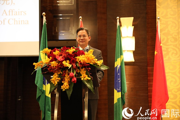 外交部副部长郑泽光