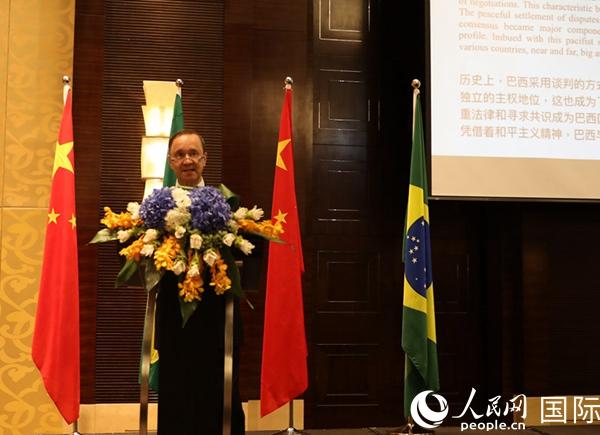 巴西驻华大使瓦莱