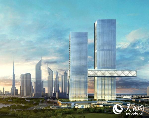 迪拜要建世界最大横向悬挂大楼,在迪拜人的眼里,只有最最最最最