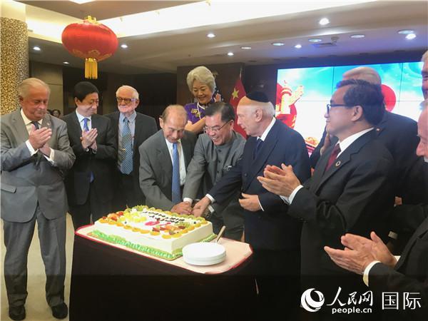 中国驻纽约总领馆隆重举行国庆70周年招待会