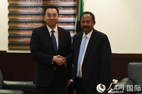 苏丹过渡政府总理哈姆杜克:期待中方在实现和平稳定和经济发展方面继续发挥重要作用