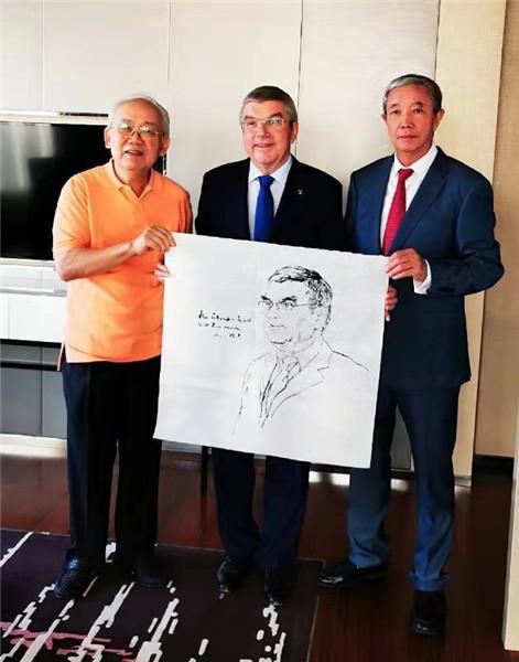中国人物画大家李延声教授为国