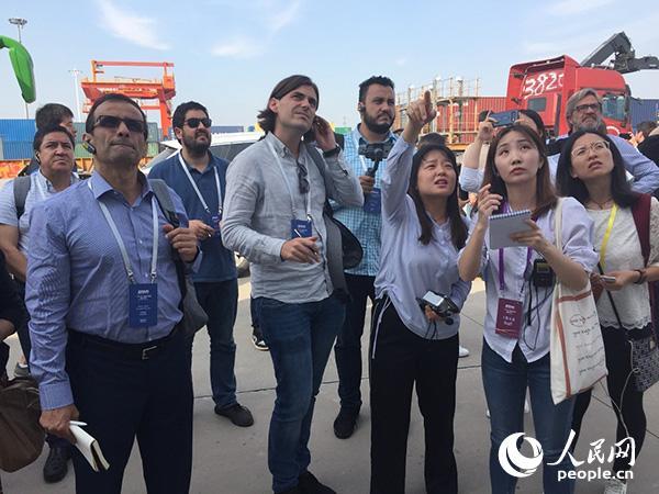 外媒记者探访中欧班列:潜力巨大!