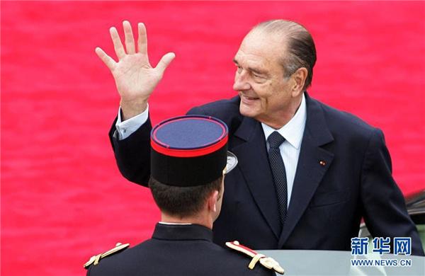 法国前总统希拉克去世终年86岁