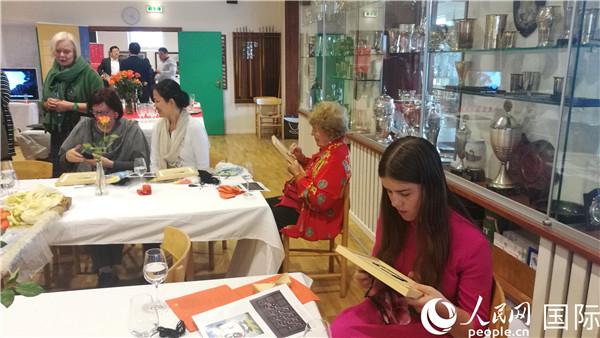 上海绒绣欧洲交流展在丹麦开幕