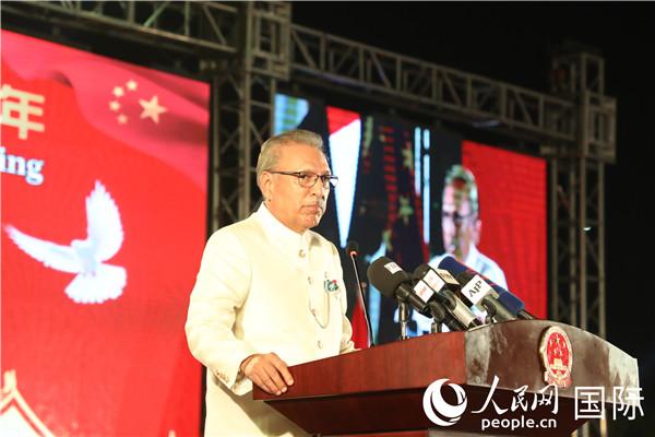 中国驻巴基斯坦大使馆举行国庆70周年招待会