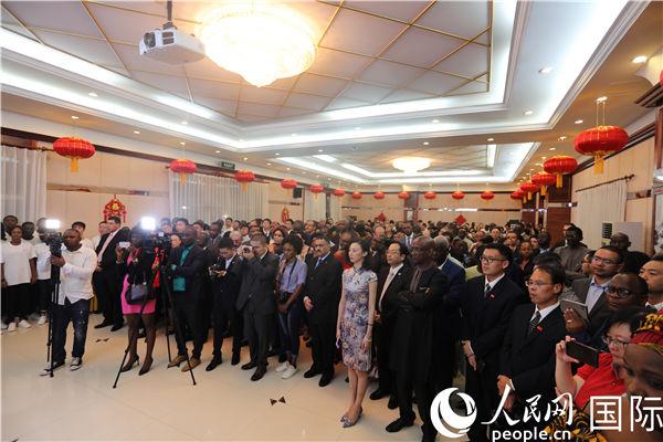 驻几内亚使馆举行庆祝新中国成立70周年暨中几建交60周年招待会