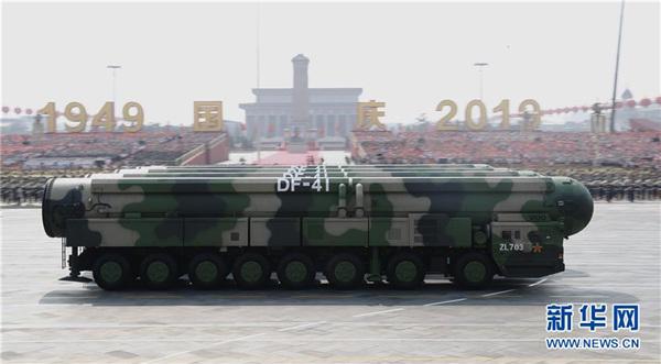国际社会:中国的军事技术发展已提升到新高度